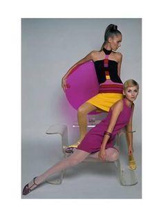 Retro Fashion Premium Photographic Print: Mademoiselle - April 1967 by Marc Hispard : - Vintage Chic, Mode Vintage, Looks Vintage, 60s And 70s Fashion, Retro Fashion, Sporty Fashion, Ski Fashion, Cheap Fashion, High Fashion