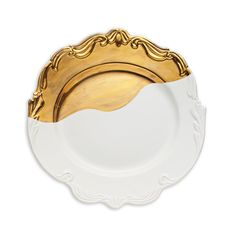 Gold Dipped Serving Platter