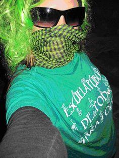 De verde contra los tijeretazos T Shirt, Women, Fashion, The Secret, Identity, Green, Death, Supreme T Shirt, Moda