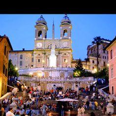Spanish steps ~ Rome