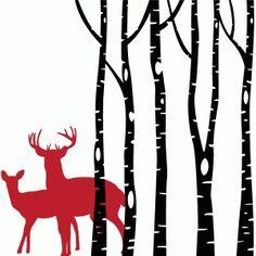 Silhouette Design Store - View Design #72105: forest friends