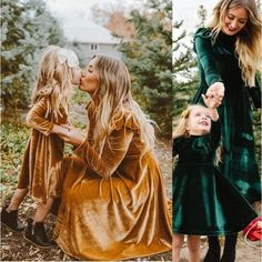Mommy And Me Dresses, Mother Daughter Dresses Matching, Mother Daughter Outfits, Mommy And Me Outfits, Couple Outfits, Matching Family Outfits, Girls Dresses, Matching Clothes, I Dress