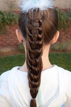 """Knotty or Nice"" I think my little girls are too active for this hairstyle, but I'm going to try it on my teenager"