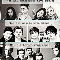 Little Mix, 5 Seconds of Summer, and One Direction