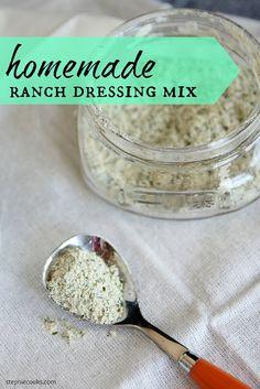 Homemade Ranch Dressing Mix Recipe