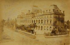 Parliament House, Brisbane, in 1888