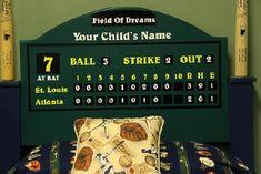 Baseball_Bed | North Little Rock | Poggy's Kids Custom Furniture