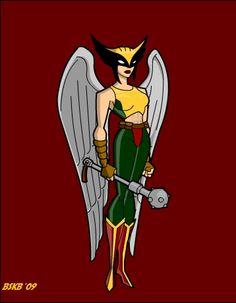 Hawkgirl by billiebob72088