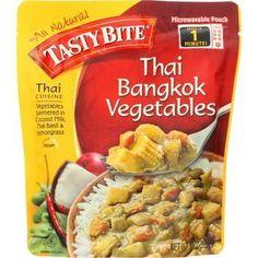 Tasty Bite Entree Thai Cuisine Thai Bangkok Vegetables 10 oz case of 6