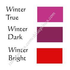 Winter reds.