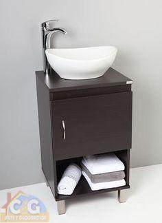 Fabricado por C&G Arte y Decoracion, mueble de baño