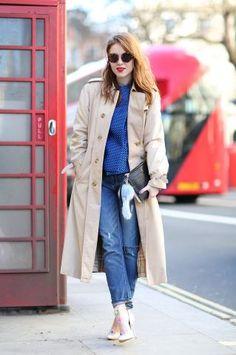 London Fashion Week Street Style Photographs