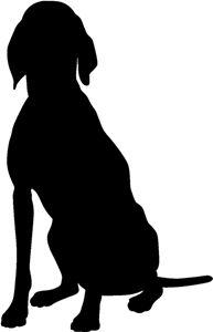 Hound Stencil | Hound Stencils | Dog Stencil | Dog Stencils