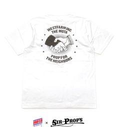 "【MOTA×PROP FOR THE NEIGHBORS】 ""M HAND SHAKE"" T-Shirt"