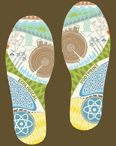 ideas for eco footprint activity for school
