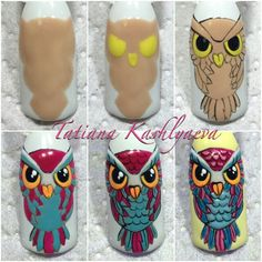 Tatiana Kashlyaeva nails