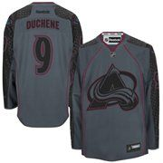 Cheer on the Colorado Avalanche in the Cross Check Premier fashion jersey! This Matt Duchene Reebok jersey features a large Colorado Avalanche logo on the front, along with your favorite player's name and number on the back. You'll be ready to join your Colorado Avalanche down on the ice when you throw on this jersey!