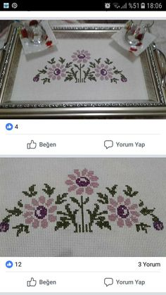 This Pin was discovered by Şen Hardanger Embroidery, Ribbon Embroidery, Embroidery Stitches, Viking Tattoo Design, Viking Tattoos, Cross Stitch Heart, Cross Stitch Flowers, Cross Stitch Cushion, Funny Cross Stitch Patterns