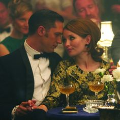 Tom Hardy (Reggie Kray) and Emily Browning (Frances Shea) | Legend(2015)Image: Universal Pictures (via Collider)