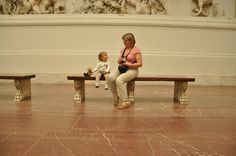 Pergamon Museum in Berlin - from a young age need to show to children the beauty of art