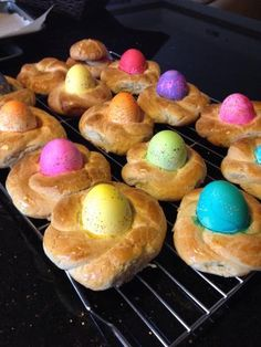 This recipe comes from a Sicilian Nonna ( Rosaria). It has been passed on for generations and is an Easter pleaser with everyone of all ages...