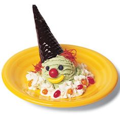 Ice Cream Clown. Haven't thought about these in years.  Every kid deserves to have at least one of these in their childhood :)