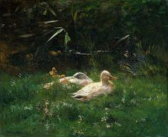 Willem Maris,  Ducks  1904