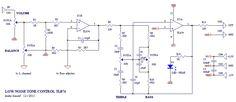 Low Noise Tone Control Circuit Diagram