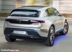 Mercedes-Benz Generation EQ Concept 2016 poster, #poster, #mousepad
