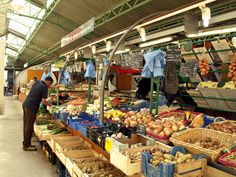 The oldest covered market in Paris, La Marché des Enfants Rouges—located in the Marais—is one of the best destinations for sampling diverse ethnic cuisines from Moroccan to Lebanese, to French Caribbean, Japanese and more.