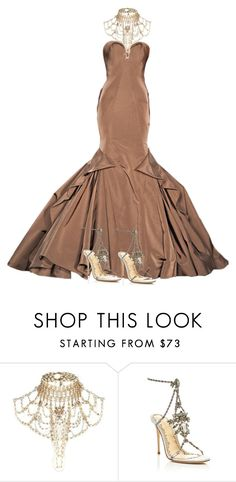 """""""Untitled #1077"""" by styledbyhkc ❤ liked on Polyvore featuring River Island and Marchesa"""