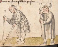 Die Pluemen der Tugent, Vintler, Hans, -1419 1. Hälfte 15. Jhdt.  Cod. Ser. n. 12819 Han  Folio 286