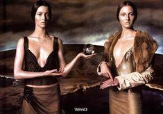 WE ♥ VERSACE- Carolyn Murphy & Guinevere van Seenus for Versace Fall 1998 by Steven Meisel. www.imageampilfied.com, Image Amplified6