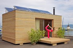 A Tiny House Sure to Please Even the Most Discerning Fans of Modern Design #modernyardapartmenttherapy