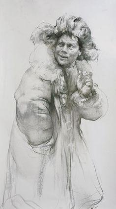 Николай Блохин - жизнь в рисунке