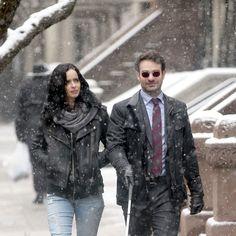Jessica Jones and Matt Murdock