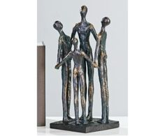 Group sculpture in bronce with black base - sculpture-in-bronce-with-black-base- modern, contemporary homeware ornaments. Casablanca, Creative Design, Modern Design, Buddha Sculpture, Bronze, How To Look Classy, Mosaic Glass, Wood And Metal, Country Of Origin