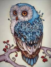 Image result for k. chin artist owls