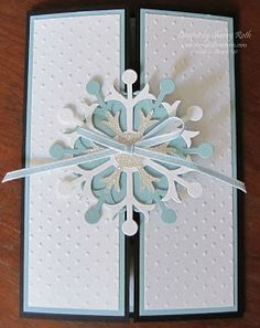 Sherry's Stamped Treasures: Winter Wedding Invitations