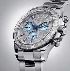 Rolex [NEW] Cosmograph Daytona Pave Diamond Platinum 116576TBR (Retail: HK$1,207,500) - Speical Offer to:- HK$838,000.
