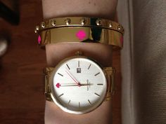kate spade watch and bangles ♠
