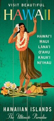 Visit all the Hawaiian Islands at least once!