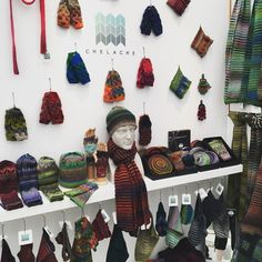 All set up and ready for @handmadebritain 's #HandmadeAtKew I'm really excited & looking forward to the private view this evening! #craft #kew #knitwear #textiles