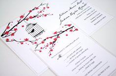 Victorian Birds Wedding Invitations Photos on WeddingWire