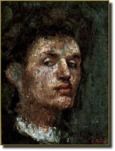 Self portrait - Edvard Munch