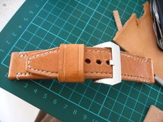 Ped's & Ro Leather Blog: Tutorial: Building Watch Strap - Part 2