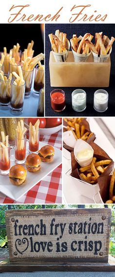 Ooh La La – French Fries For Your Wedding Reception