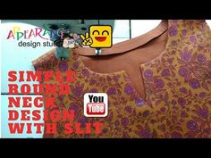 Class 47: How to finish curved & Square neckline with bias & straight strips of fabric - diy - YouTube Off Shoulder Kurti, Easy Sewing Patterns, Sewing Tutorials, Sewing Hacks, Collar Kurti, Wrap Pants, Sewing Courses, Sewing Lessons, Pattern Cutting
