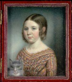 Sarah Goodridge - Beulah Appleton ca. 1840. Smithsonian American Art Museum.