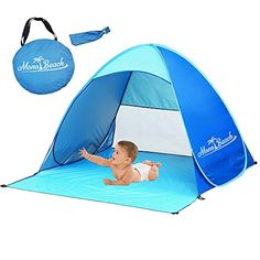 [$30.59 save 20%] #LightningDeal 80% claimed MonoBeach Portable Baby Beach  sc 1 st  Pinterest & 239.99] [Amazon Canada]Coleman 10 by 10-Feet Shelter $111.53 http ...